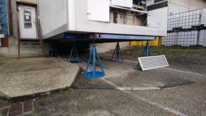 Cambre froide SB16 sur pieds de quai