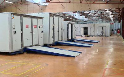 Fornitura di celle frigorifere e container frigoriferi nel settore farmaceutico