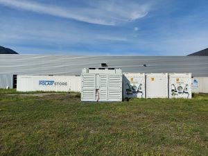 Assemblaggio di container frigoriferi