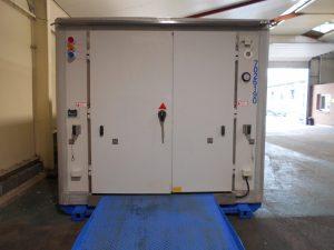 Consegna di una cella frigorifera SB33
